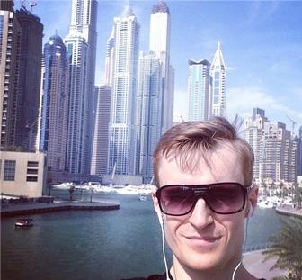 Иван Будько в Дубай