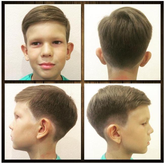 Как сделать для мальчика прическу шапочка