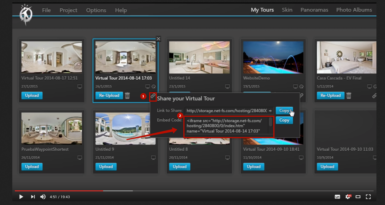 Virtual tour question adobe community you can upload 3d tour directly from the 3dvista project to a folder in your hosting then take this code ctrlc and paste it in muse ctrlv baditri Choice Image